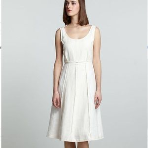 Anthro Koto Bolofo Annike Linen Dress